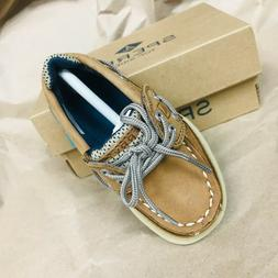Sperry Baby/Toddler Boys Lanyard A/C Boat Shoes, size 5-12