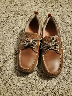 Sperry  Billfish  Mens Shoes Tan/brown Size 9 ,Worn only onc