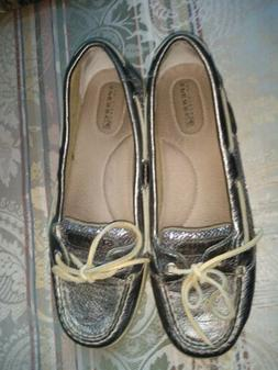 Sperry boat shoes women size 8