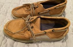 Boys Sperry Lanyard Top Sider Boat Shoes Size 5 M Slip On Ta