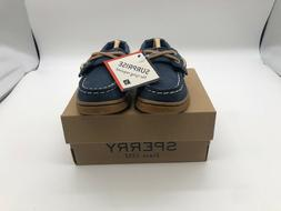 Brand New Sperry Cup II BT JR Navy/Gum Slip-On Boat Shoes fo