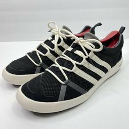 ADIDAS Climacool Boat Lace Water Shoes Black Mesh Men's US 1