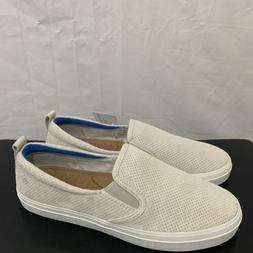 crest plush moonbeam boat shoes sneakers