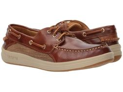 Sperry Gold Cup 3-Eye Gamefish Boat Shoes Men's Brown Leathe