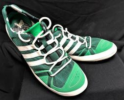 Adidas Green Climacool Water Grip Boat Lace Up Shoes Men's S