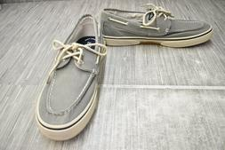 Sperry Halyard 0772830 Boat Shoes, Men's Size 11.5, Gray NEW