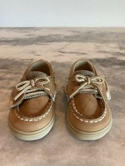 Sperry Kids' Bluefish Crib Shoes  BABY  Size 3 LINEN OAT