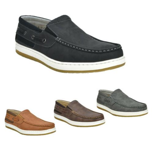 mens boat shoes fashion sneakers comfort loafers