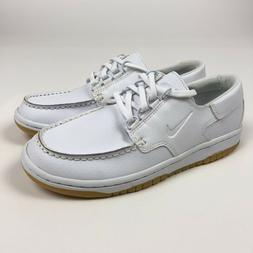 Nike Mad Jibe White Gum Sole Deck Boat Shoes Youth 4.5 Women