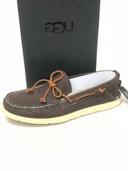 UGG Australia Men's Beach Moc Leather Boat Shoes Loafers Sto