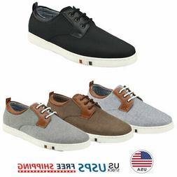Men's Boat Shoes Lace Up Casual Loafer Oxford Shoes Fashion