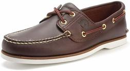 Timberland Mens 2 Eye Classic Handsewn Leather Boat Shoes Da