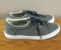 Sperry Men's Gray Fashion Lace Up Clean Sneakers Shoes Siz