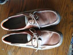 MENS SPERRY TOP SIDER TARPON 2 EYED BOAT SHOES 0771253 SIZE