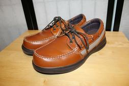 NB  RARE  BARBADOS SURE FIT BROWN  LEATHER WALKING BOAT STYL