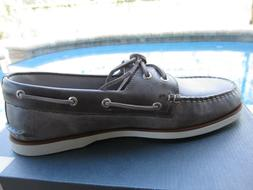 NEW SPERRY MEN'S GOLD CUP A/O 2 EYE BOAT SHOES 11.5 MAIDEN G