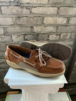 New Sperry Men's Intrepid 2 Eye Leather Top Sider Boat Shoes