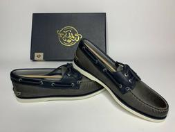 New Men's Sperry Top-Sider Gold Cup A/O 2-Eye Boat Shoes Gra