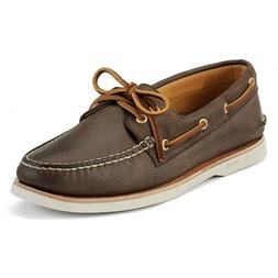 NEW! Sperry Gold Cup A/O 2 Eye Brown Boat Shoe Men's 0219493