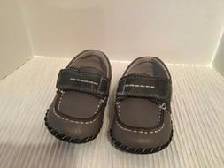 Pediped Norman Boat Shoes Gray 12-18 Mo Ths