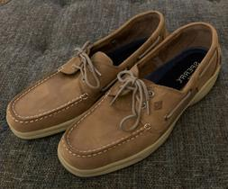 Nwob Sperry Top-Sider Two-eye Boat Shoes Mens Size 13 Rubber