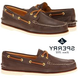 Sperry Top-Sider Gold Cup A/O 2-Eye Men's Boat Shoes Leather