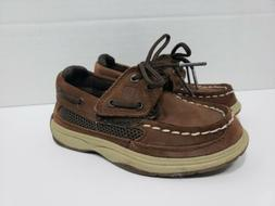 Sperry Top-Sider Lanyard Boat Shoes Boys Kids Toddler Size 8