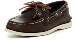 Sperry Top-Sider Men's A/O 2-Eye Brown/White Boat Shoes 8M