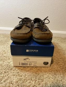 Sperry Top Sider Men's Classic Boat Shoes Brown Buck Size 13