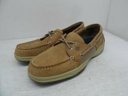 Sperry Top-Sider Men's Intrepid 2-Eye Boat Shoes Sahara Leat