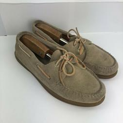 Sperry Top-Sider Mens Boat Shoes Loafers Brown Suede Non-Mar