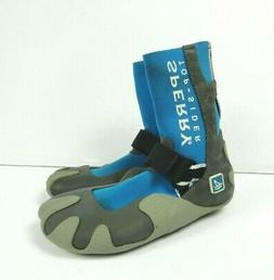 Sperry Top-Sider Sea Sock Hi Black Water Boat Shoes Size 4-6