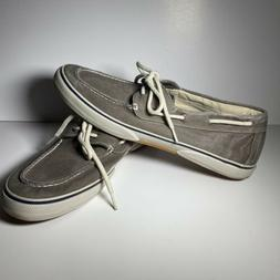 Sperry Top-sider Size 13 W 0777867 Halyard Chocolate Washed
