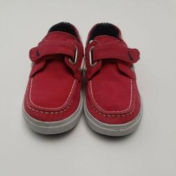 Nautica Toddler Boy's Little River Canvas Shoes Red US 11