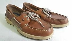 Sperry Top Sider Intrepid Men's Leather Moccasin Boat Shoes