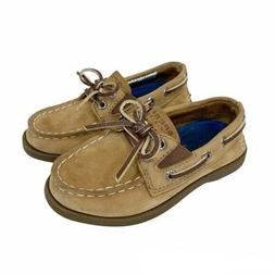 Sperry Top Sider Leather Boat Shoe Loafers Toddler Boy size