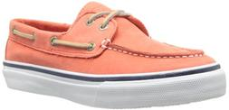 Sperry Top-Sider Men's Washable Bahama 2 Eye Boat Shoe,Red,7