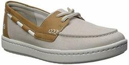 Clarks Women's Shoes Step Glow Lite Boat Shoe Closed, Off-wh